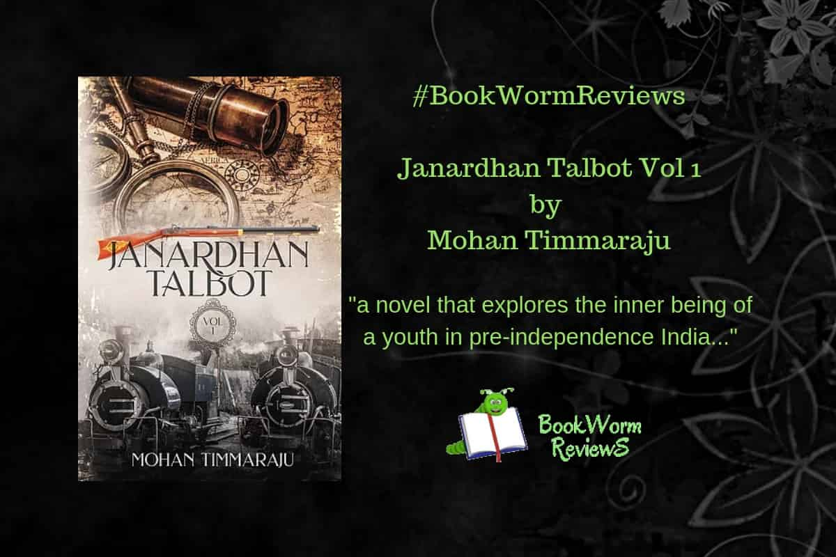 Janardhan Talbot vol 1 book review Mohan Timmaraju